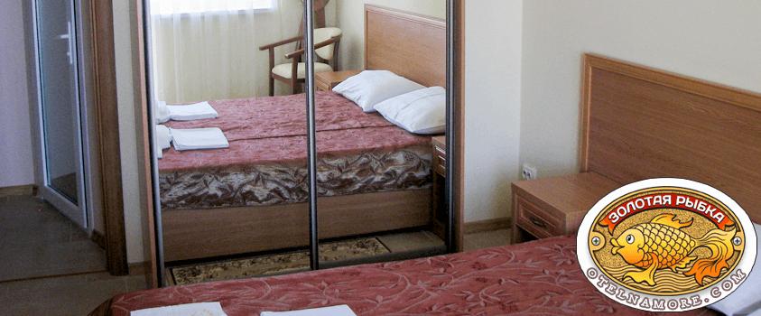 Люкс 3 места отель Золотая рыбка