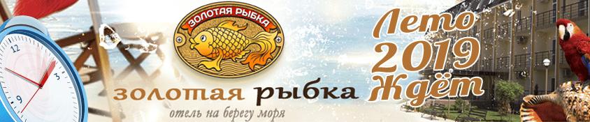 Отель Золотая рыбка - сезон Лето 2019